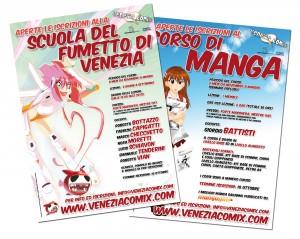 Veneziacomix apre le iscrizioni per l'anno 2010-2011