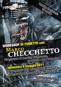 Workshop con MARCO CHECCHETTO (Marvel)