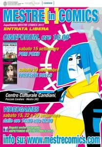 SETTEMBRE ASPETTANDO MESTRE COMICS 2012!