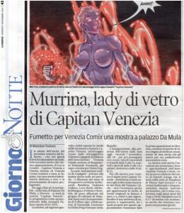 Murrina, lady di vetro di Capitan Venezia