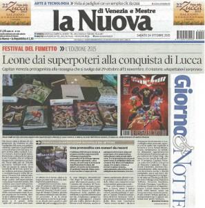 Leone dai superpoteri alla conquista di Lucca