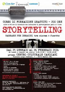 Corso Storytelling – Narrare per immagini