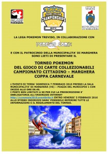 TORNEO POKEMON a Marghera – Coppa Carnevale