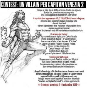 CONTEST: UN VILLAIN PER CAPITAN VENEZIA 2