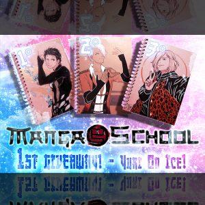 Giveaway di MangaSchool dedicato a YURI ON ICE!