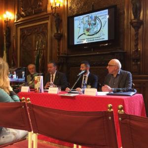 """Cerimonia di consegna del premio """"Nuvole in Veneto"""" a Giorgio Cavazzano"""