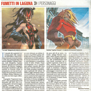 I supereroi veneziani conquistano l'Italia!