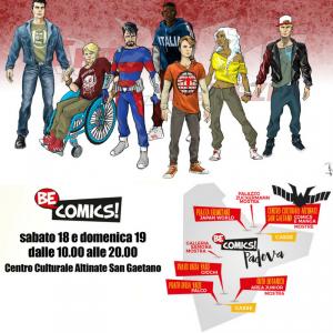 Capitan Venezia a Be Comics!