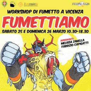 """Workshop di fumetto """"FUMETTIAMO""""!"""