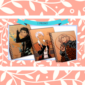 Ecco i vincitori del giveaway di MangaSchool dedicato a YURI ON ICE!