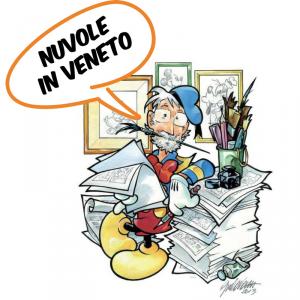"""La 1° ed. del premio di """"NUVOLE IN VENETO"""" a Giorgio Cavazzano"""