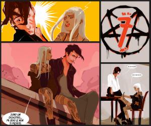 """""""7"""", il nuovo webcomic!"""