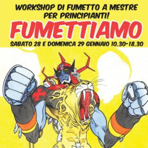Workshop FUMETTIAMO con Melissa Zanella