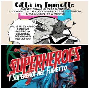 Città in fumetto e Superheroes