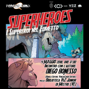 Superheroes alla VEZ Junior!