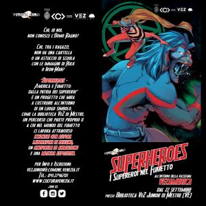 VEZ AMERICA: SUPERHEROES in VEZ Junior!