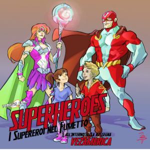 """Superheroes – Laboratorio """"Crea il tuo supereroe"""""""