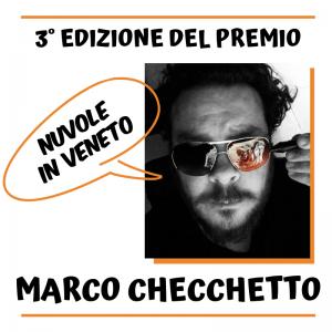 """Premio """"Nuvole in Veneto"""" 2019 a Marco Checchetto"""