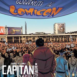 Capitani Italiani al Comicon!