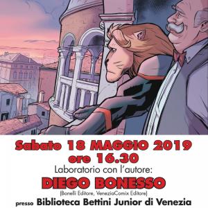TRA LE NUVOLE: laboratorio di fumetto con Diego Bonesso!