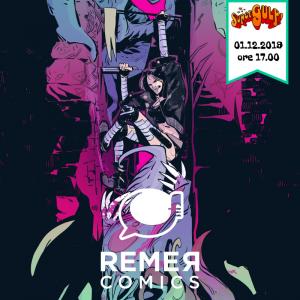 Presentazione di Remer Comics presso Supergulp Venezia!