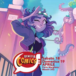 Venezia Comics 2020 ad aprile a Forte Marghera