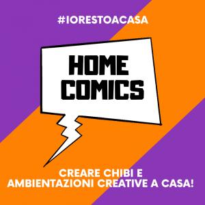 HOME COMICS – Creare chibi e ambientazioni creative a casa!