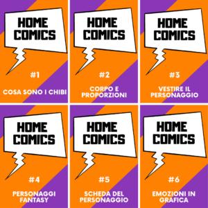 HOME COMICS – Parte I° con Chiara Gramaccioni