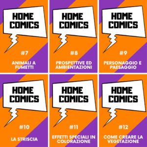HOME COMICS – Parte 2° con Silvia Gorla