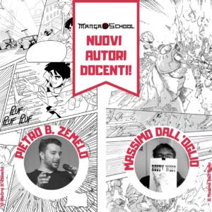 I nuovi autori docenti della MangaSchool: Zemelo e Dall'Oglio!