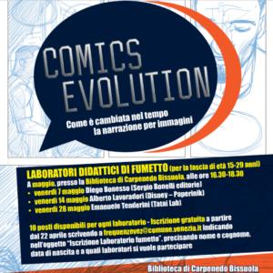 "I laboratori didattici di ""Comics Evolution"" alla Biblioteca Carpenedo Bissuola!"