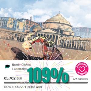 Capitan Napoli: crowdfunding al 109%!