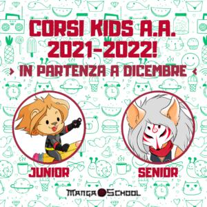 ISCRIZIONI CORSI KIDS APERTE PER L'A.A. 2021-2022!